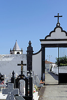 Friedhof in Lajes auf der Insel Terceira, Azoren, Portugal