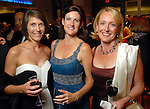 """Susanne Pritchard, Stephanie Tsuru and Kathy Zay at  the """"Wrecking Ball"""" at the Houston Museum of Natural Science Saturday  March 07, 2009. (Dave Rossman/For the Chronicle)"""