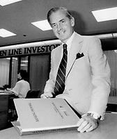 Robert Korthals, Chairman of the Toronto Dominion Bank.