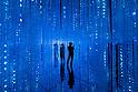 Digital art museum: TeamLab Borderless in Tokyo, Japan