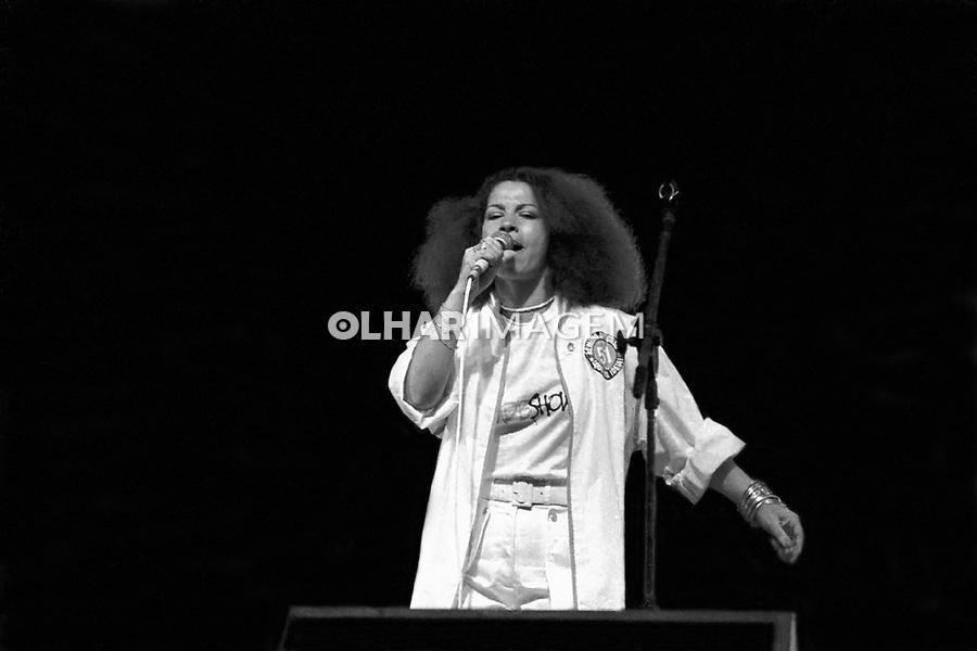 Pessoa. Personaledade. Cantora Clara Nunes. SP. 1982. Foto de Juca Martins.