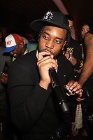 NEW YORK, NY- SEPTEMBER 12: Fivio Foreign pictured at Swizz Beatz Surprise Birthday Party at Little Sister in New York City on September 12, 2021. Credit: Walik Goshorn/MediaPunch