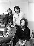 The Doors 1968 Ray Manzarek, Jim Morrison, John Densmore, Robbie Krieger at Top Of The Pops..© Chris Walter..