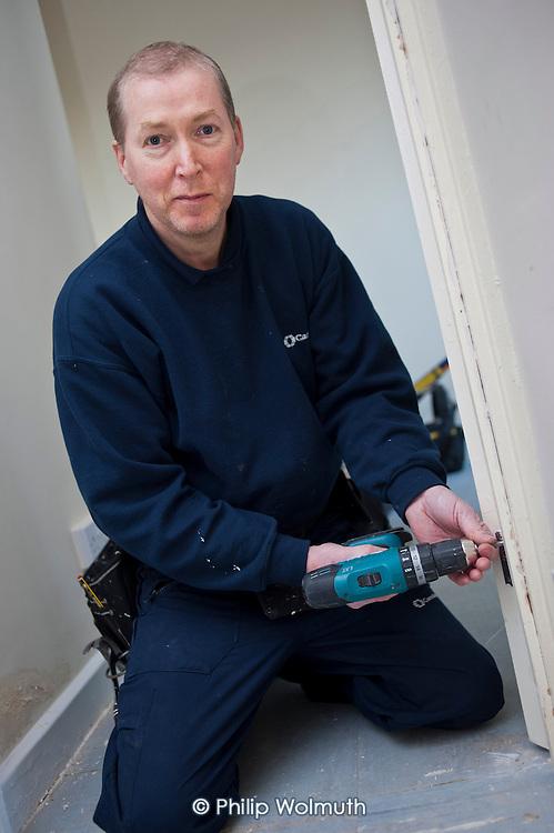 Shaun Keating, carpenter, Camden Council