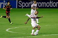 23rd August 2020; Estadio Ilha do Retiro, Recife, Pernambuco, Brazil; Brazilian Serie A, Sport Recife versus Sao Paulo; Daniel Alves of Sao Paulo takes a shot on goal
