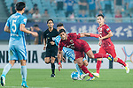 Shanghai FC Forward Givanildo Vieira De Sousa (Hulk) (C) in action during the AFC Champions League 2017 Round of 16 match between Jiangsu FC (CHN) vs Shanghai SIPG FC (CHN) at the Nanjing Olympic Stadium on 31 May 2017 in Nanjing, China. Photo by Marcio Rodrigo Machado / Power Sport Images