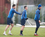 Sebastien Faure, Fraser Aird and Ross Perry