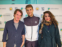 Rotterdam, The Netherlands, February 14, 2016,  ABNAMROWTT, SUPPORT THE STARS met Klizan<br /> Photo: Tennisimages/Henk Koster