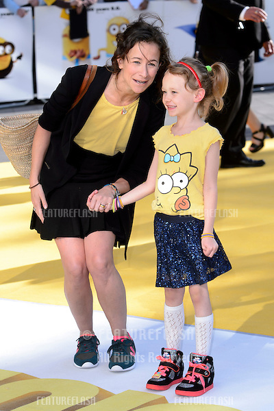 """Leah Wood at the world premiere of """"Minions"""" at the Odeon, Leicester Square, London.<br /> June 11, 2015  London, UK<br /> Picture: Dave Norton / Featureflash"""