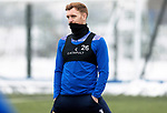 St Johnstone Training...   21.01.21<br />Liam Craig pictured during training at McDiarmid Park ahead of Saturday's BetFred Cup semi-final against Hibs at Hampden.<br />Picture by Graeme Hart.<br />Copyright Perthshire Picture Agency<br />Tel: 01738 623350  Mobile: 07990 594431