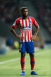 Thomas Lemar of Atletico de Madrid looks on during their International Champions Cup Europe 2018 match between Atletico de Madrid and FC Internazionale at Wanda Metropolitano on 11 August 2018, in Madrid, Spain. Photo by Diego Souto / Power Sport Images