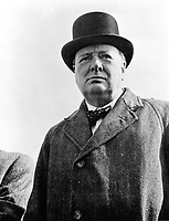 1942 - Prime Minister Winston Churchill of Great Britain