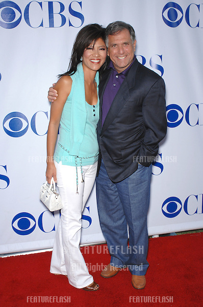 """Julie Chen & husband CBS president Leslie Moonves at the CBS Summer Press Tour """"Stars Party 2007"""" on the Wadsworth Theatre Great Lawn..July 20, 2007  Los Angeles, CA.Picture: Paul Smith / Featureflash"""