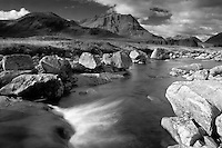 Meall a Bhuiridh, Creise and the River Etive, Rannoch Moor, Glencoe, Highland