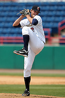 Brevard County Manatees pitcher Eric Arnett #22 during a game against the Clearwater Threshers at Space Coast Stadium on April 30, 2012 in Viera, Florida.  Clearwater defeated Brevard County 5-1.  (Mike Janes/Four Seam Images)