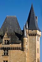 Europe/France/Aquitaine/24/Dordogne/Vallée de la Vézère/Périgord Noir/Saint-Léon-sur-Vézère:    le Château de Clérans
