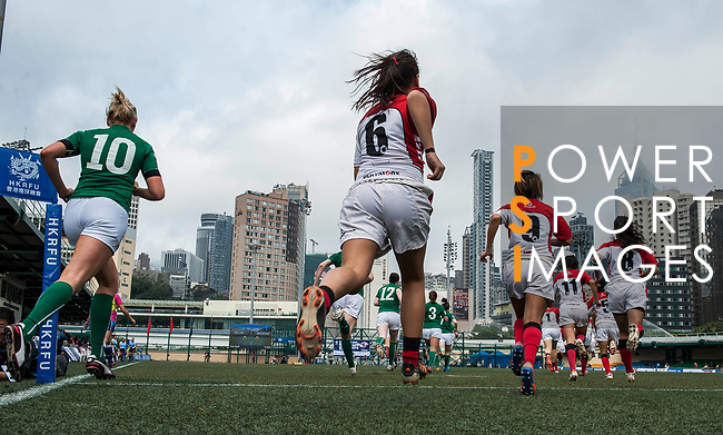 Players in action during the at Hong Kong Football Club Stadium on March 28, 2014 in Hong Kong, China. Photo by Xaume Olleros / Power Sport Images