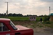 Chop, Ukraine.June 3, 2005 ..Life along the Hungarian-Ukrainian border from the Ukraine side....