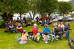 No Music Festival in Cahersiveen this year due to Covid restrictions but these 30 Musicians turned up at the Fair Field in Cahersiveen to create a buzz.