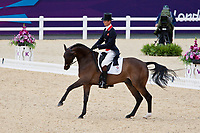 GBR-William Fox-Pitt (LIONHEART) 2012 LONDON OLYMPICS (Sunday 29 July 2012) EVENTING DRESSAGE: INTERIM-=17TH (44.10)