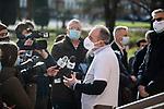 Emergenza Coronavirus - arrivo vaccino Pfizer a Brescia