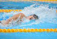 August 04, 2012..Nathan Adrian competes in Men's 4x100m Men's Medley Relay at the Aquatics Center on day eight of 2012 Olympic Games in London, United Kingdom.