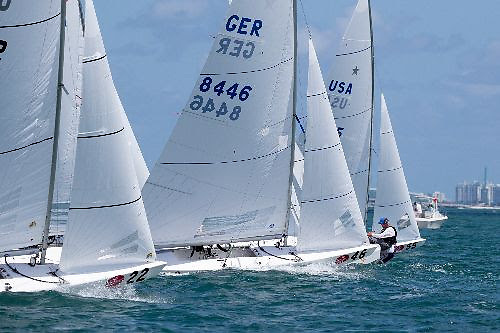 Star sailing in the 2021 Bacardi Cup