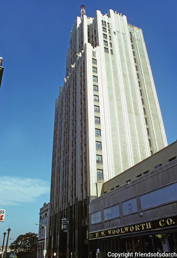 St. Louis: Continental Building, 1928-1930. Photo '78.