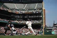 Barry Bonds. Baseball: Colorado Rockies vs San Francisco Giants at AT&T Park in San Francisco, CA on September 14, 2006. Photo by Brad Mangin