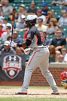 Outfielder Anthony Alford #21 during the Under Armour All-American Game at Wrigley Field on August 13, 2011 in Chicago, Illinois.  (Mike Janes/Four Seam Images)
