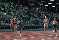 10th June 2021; Stadio Luigi Ridolfi, Florence, Tuscany, Italy; Muller Diamond League Grand Prix Athletics, Florence andRome; Dina Asher Smith wins the women's 200m