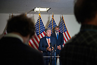 United States Senator Roy Blunt (Republican of Missouri), offers remarks following the GOP luncheon in the Hart Senate Office Building on Capitol Hill in Washington, DC., Tuesday, September 15, 2020. Credit: Rod Lamkey / CNP<br /> Credit: Rod Lamkey / CNP /MediaPunch