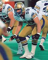 Lyle Bauer Winnipeg Blue Bombers 1983. Photo Scott Grant