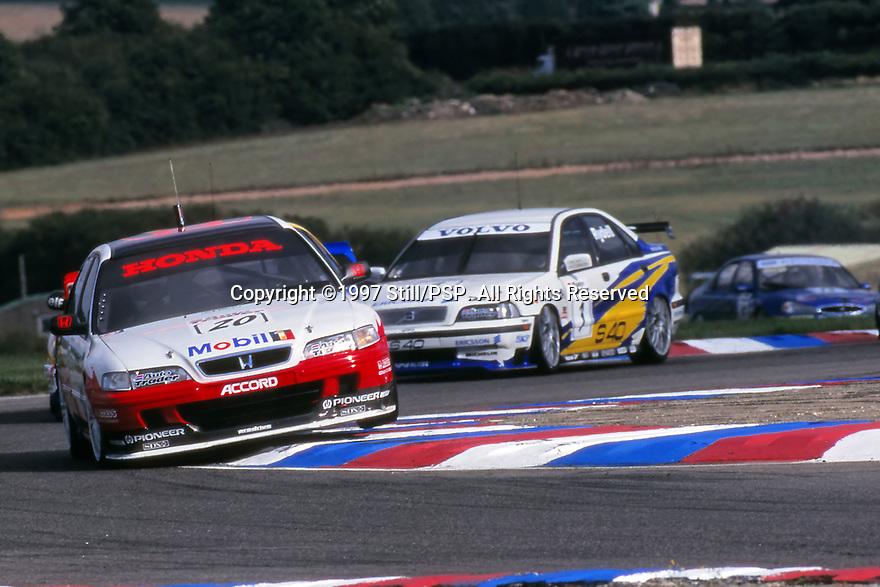 1997 British Touring Car Championship. #20 Gabriele Tarquini (ITA). Team Honda Sport. Honda Accord.