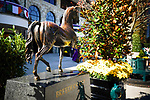 November 6, 2020: Scenes from the paddock at Keeneland Racetrack in Lexington, Kentucky, on Friday, November 6, 2020. Scott Serio/Eclipse Sportswire/Breeders Cup/CSM