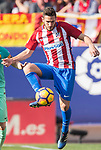 Jorge Resurreccion Merodio, Koke, of Atletico de Madrid in action during their La Liga match between Atletico de Madrid and FC Barcelona at the Santiago Bernabeu Stadium on 26 February 2017 in Madrid, Spain. Photo by Diego Gonzalez Souto / Power Sport Images