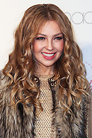 GLENDALE, CA - DECEMBER 06: Singer Thalia celebrates Macy's 5th Annual National Believe Day for Make-A-Wish held at Macy's Glendale Galleria on December 6, 2013 in Glendale, California. (Photo by Xavier Collin/Celebrity Monitor)