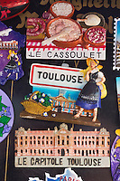 Europe/France/Midi-Pyrénées/31/Haute-Garonne/Toulouse: Souvenirs à l' image de la Ville de Toulouse: Magnets [Non destiné à un usage publicitaire - Not intended for an advertising use]