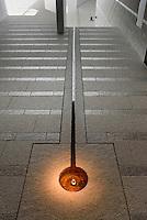 Heilige Quelle Helligdomskilden im Bornholm Kunstmuseum, Architekten Johan Fogh und Per Følner  auf der Insel Bornholm, Dänemark, Europa<br /> Holy spring Helligdomsskilden in Bornholm Arts-Museum, Isle of Bornholm Denmark