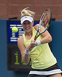 American Alison Riske defeats Petra Kvitova (CZE),  6-3, 6-0 at the US Open being played at USTA Billie Jean King National Tennis Center in Flushing, NY on August 31, 2013