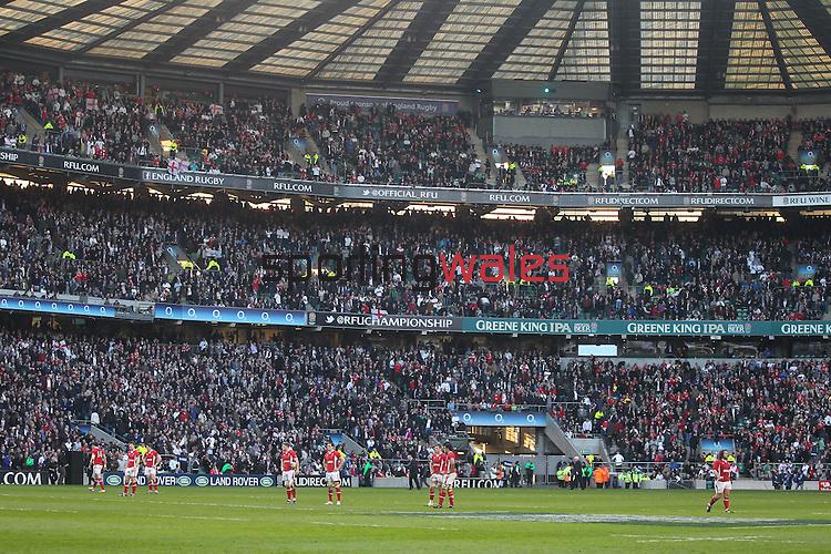 RBS 6 Nations 2012.England v Wales.Twickenham.25.02.12.Credit: STEVE POPE - Sportingwales