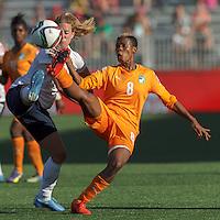 Norway vs Cote d'Ivoire, June 15, 2015