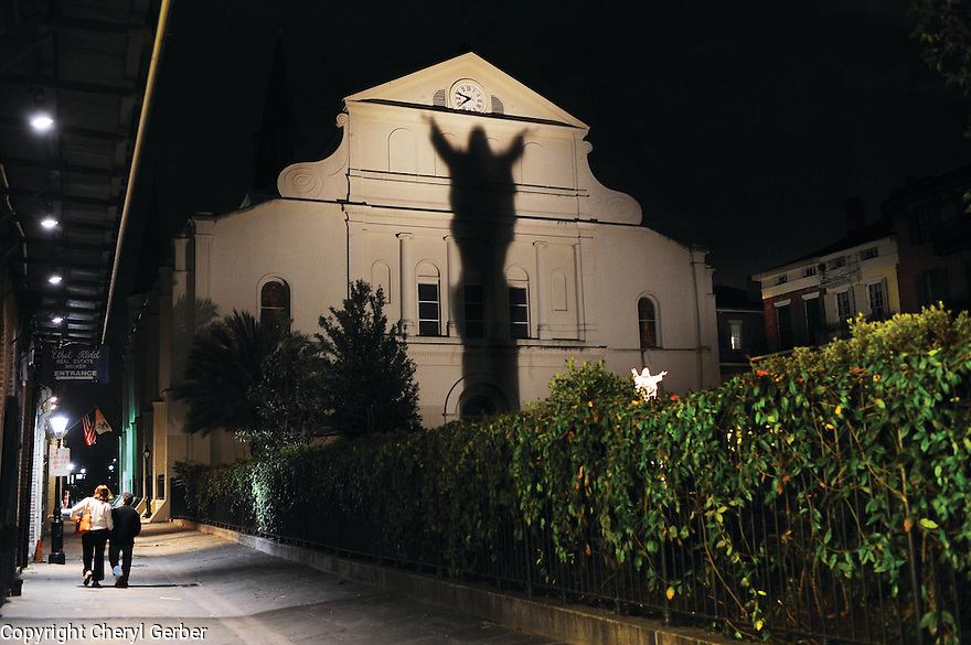 Back on St. Louis Cathedral, 2015