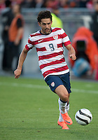 03 June 2012: US Men's National Soccer Team forward Herculez Gómez #9 in action during an international friendly  match between the United States Men's National Soccer Team and the Canadian Men's National Soccer Team at BMO Field in Toronto..The game ended in 0-0 draw...