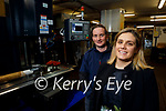 Sarah and Keith Cronin of Torc Precision Engineering who received the Leader grant for a new CNC Milling machine.