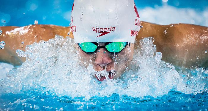Nicholas Bennett, Lima 2019 - Para Swimming // Paranatation.<br /> Nicholas Bennett competes in the men's 100m butterfly S14 // Nicholas Bennett participe en 100 m papillion masculin S14. 28/08/2019.