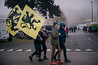 Flanders fans off to the race<br /> <br /> CX World Cup Koksijde 2018