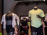 Modegeschäft auf der Baratashvili  St., Batumi, Adscharien - Atschara, Georgien, Europa<br /> fashion shop at  Baratashvili  St.,  Batumi, Adjara,  Georgia, Europe