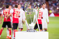Real Madrid's and Stade de Reims's players between the Real Madrid's  Europe Supercup during the XXXVII Santiago Bernabeu Trophy in Madrid. August 16, Spain. 2016. (ALTERPHOTOS/BorjaB.Hojas) /NORTEPHOTO