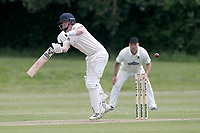 M Bell in batting action for Billericay during Billericay CC (batting) vs Hornchurch CC, Hamro Foundation Essex League Cricket at the Toby Howe Cricket Ground on 12th June 2021